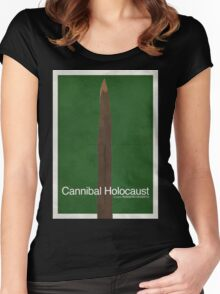 Cannibal Holocaust - Minimal Poster Women's Fitted Scoop T-Shirt