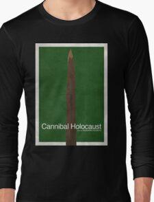Cannibal Holocaust - Minimal Poster Long Sleeve T-Shirt