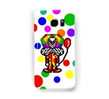 Pixel Clown Case #1 Samsung Galaxy Case/Skin