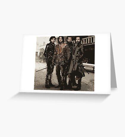 Musketeers 3 Greeting Card