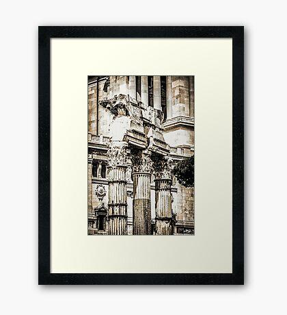 Le Forum Romain Framed Print