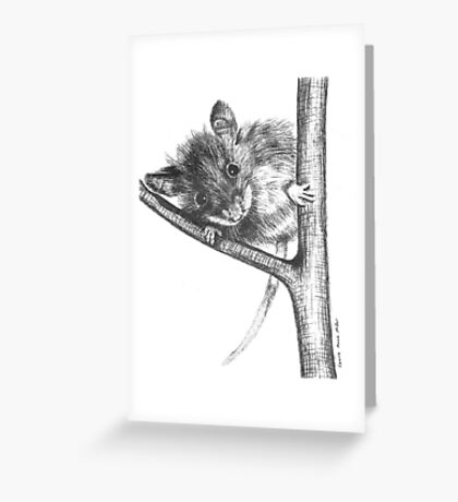 Cute Mouse! Greeting Card
