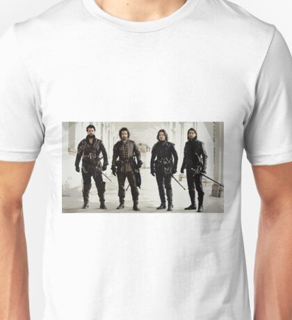 Musketeers 6 Unisex T-Shirt
