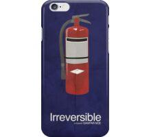 Irreversible - Minimalist Interpretation iPhone Case/Skin