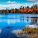 Harridge Lake Northern Ontario by Yukondick