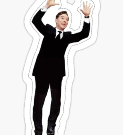Photobomb Benedict Cumberbatch Sticker