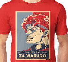 Vote for ZA WARUDO! Unisex T-Shirt