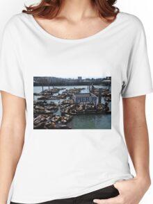 Pier 39 San Francisco Bay Women's Relaxed Fit T-Shirt
