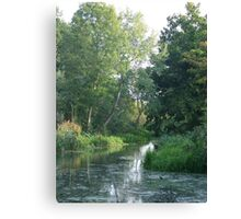 Traditional Beautiful English Countryside Canvas Print