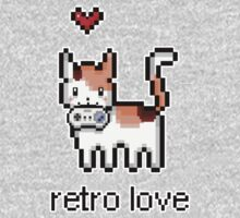 8 bit retro kitty by Misurino