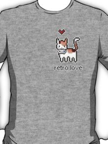 8 bit retro kitty T-Shirt