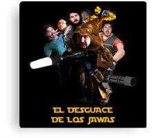 EL DESGUACE DE LOS JAWAS Canvas Print