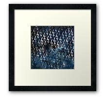 electric storm 4 Framed Print