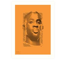 World Cup Edition - Yaya Toure / Ivory Coast Art Print