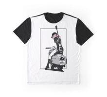 FLCL - Haruko Full print GRAPHIC TEE Graphic T-Shirt
