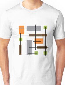 Cubicle Atomic Era Art Unisex T-Shirt