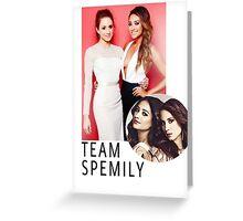 Team Spemily PLL Greeting Card