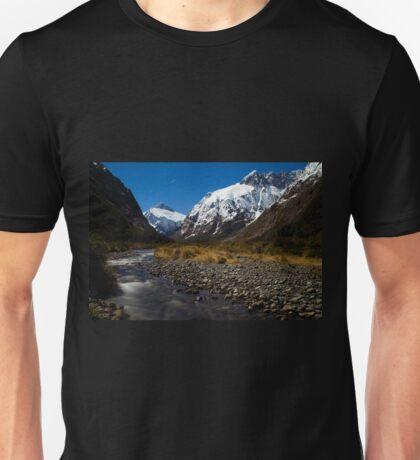 Upper Hollyford Valley, Fiordland National Park, at night Unisex T-Shirt