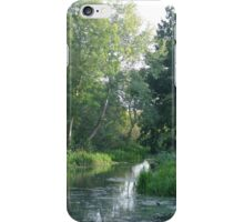 Traditional Beautiful English Countryside iPhone Case/Skin