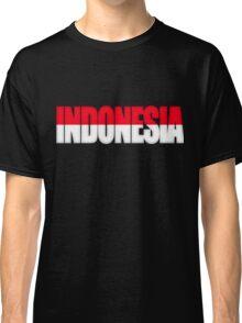 Indonesia Flag Classic T-Shirt