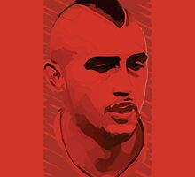 World Cup Edition - Arturo Vidal / Chile by Milan Vuckovic