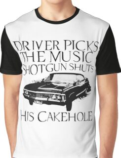 Driver Picks The Music  Graphic T-Shirt