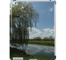 Weeping Willow Over the River iPad Case/Skin