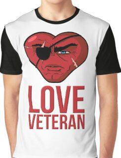 Love Veteran Graphic T-Shirt