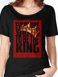 King Crown - Luke Cage Women's Relaxed Fit T-Shirt