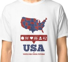 USA Presidential Election 2016 Trump vs Clinton Classic T-Shirt