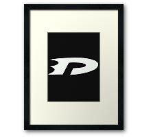 Danny Phantom white Framed Print