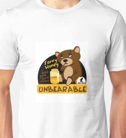 Unbearable Honey Pun Unisex T-Shirt