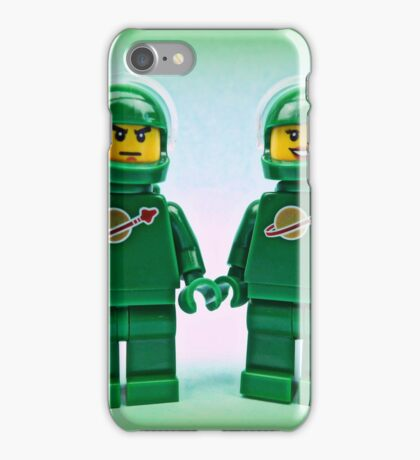 Lego Space Pete & Yve iPhone Case/Skin