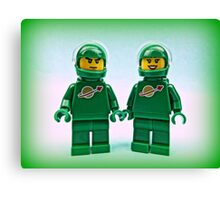 Lego Space Pete & Yve Canvas Print