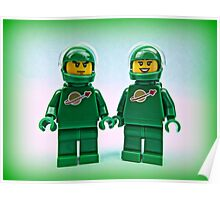 Lego Space Pete & Yve Poster