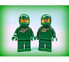 Lego Space Pete & Yve Photographic Print