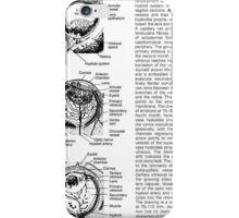 sick human eye iPhone Case/Skin