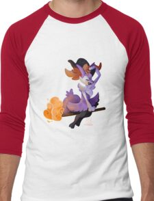 Witchy Braixen Men's Baseball ¾ T-Shirt