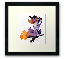 Witchy Braixen Framed Print