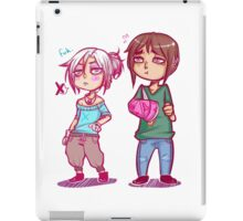 Grumpy Boys iPad Case/Skin