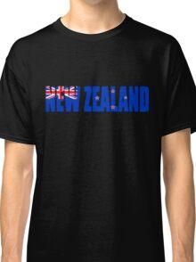 New Zealand Flag Classic T-Shirt