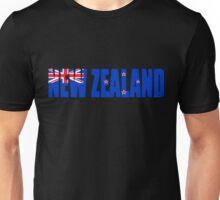 New Zealand Flag Unisex T-Shirt