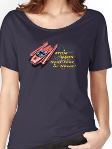 Atom Cars retro Women's Relaxed Fit T-Shirt