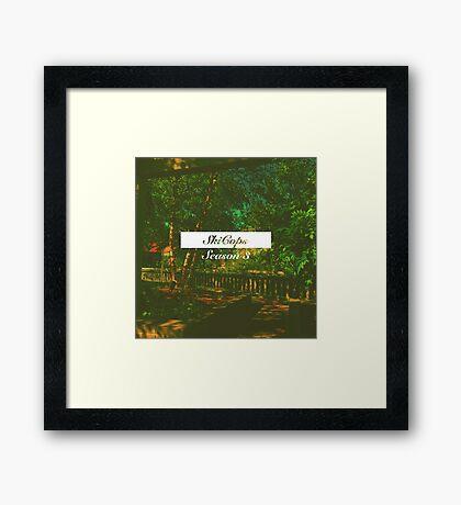 SkiCops // Season III Framed Print