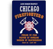 CHICAGO FIREFIGHTERS Canvas Print