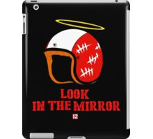 Driver, look in the mirror iPad Case/Skin