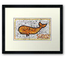 SHOOZ Framed Print