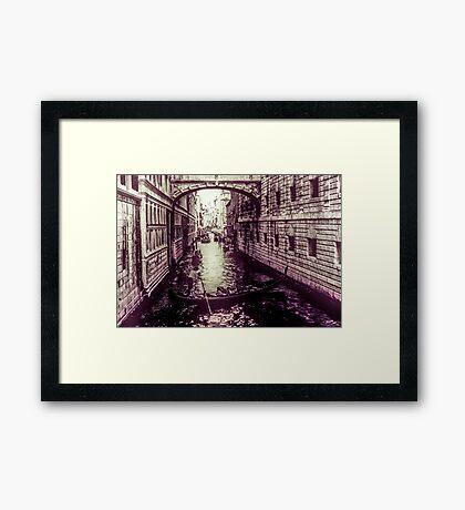 The Manouver Framed Print