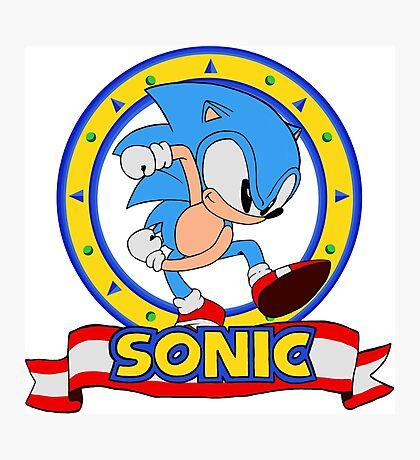 Sonic Mania - Cartoon Photographic Print
