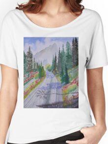 Biking The Mountains 2 Women's Relaxed Fit T-Shirt